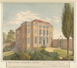 Brunswick House, Tanner's Hill, Deptford built by Capt. Strode
